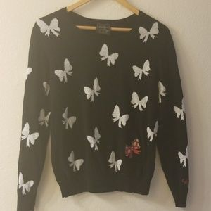 Minnie Mouse bow sweater